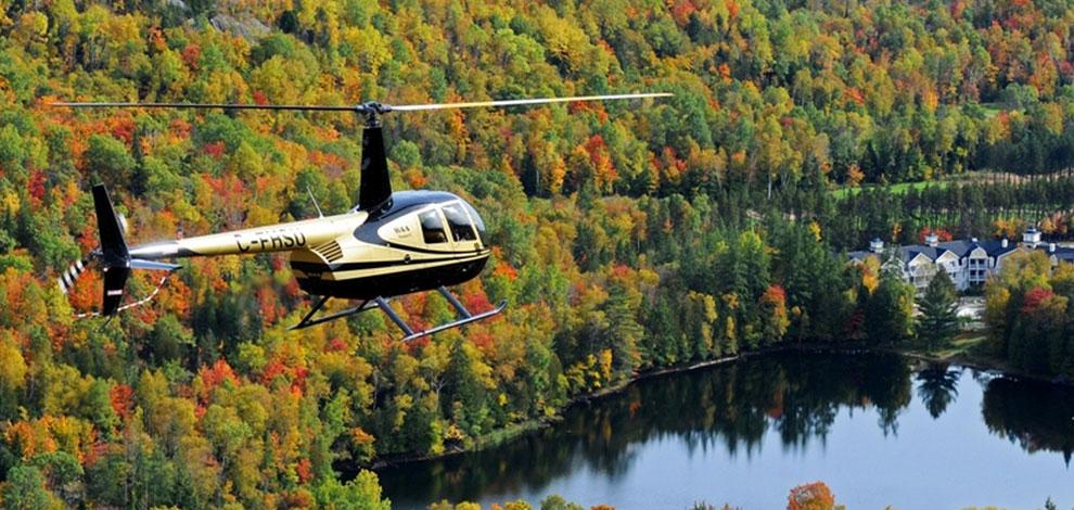 Hélicoptère Montréal Québec