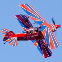 Avion - Acrobaties aériennes - Biplan- Lachute +Vi