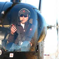 Helicopter - Pilot for a day - Qu�bec