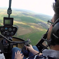 Helicopter - Flying lesson R22 -15min -St-Hubert