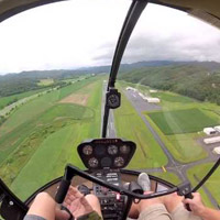 Helicopter - Pilot for a day - St-Hubert R22-30m