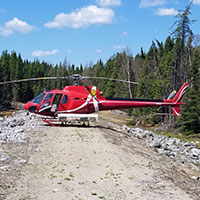 Helicopter Ride - Laurentides - 60 min -  5 pers.