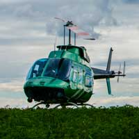 Helicopter Ride - Lachute - 20 min -  4 to 6 pers.