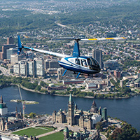 Helicopter  -Ottawa-Hull-Gatineau  -10 min - 3pers