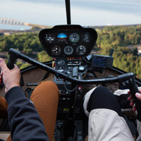 Helicopter - Pilot for a day - Québec R44-30