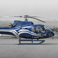 Helicopter - Pilot for a day - Qu�bec AS350B2-60