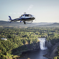 Helicopter - Tour - Quebec - 45 min.- 1pers.