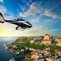 Helicopter - Tour - Quebec - 15 min.- 1pers.