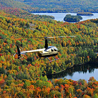 Helicopter - Tremblant - 15 min x 2 -Family