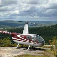 Helicopter R44 - Tremblant - Romantic diner escape