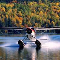 Float plane - La Tuque - Flight 30 mi -1 pers.