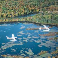 Float plane - Quebec city - Discovery Flight 60 mi