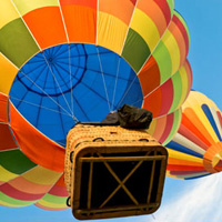 Hot air balloon flight  - Quebec - 1 hour