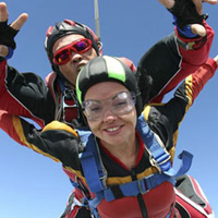 Sky diving jump - 13,500` ! - Montreal - Week