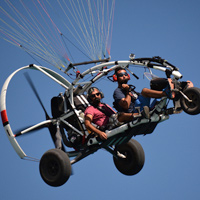 Paramotor- Tandem flight - 20 min - Quebec