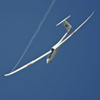 Aerobatic glider flight