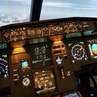 Flight simulator Airbus 320 - 60 min -  Quebec
