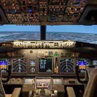 Flight simulator Boeing - 30 min -  Montreal