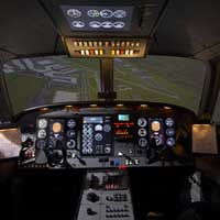 Flight simulator - Airplane - 60min - Longueuil