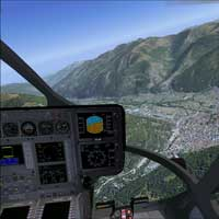 Flight simulator - Helicopter - 50 min - Montreal