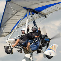 Powered hang-glider - 60 minutes  - Montreal