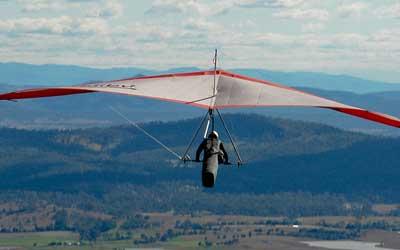 Apprendre à voler en deltaplane à Montréal