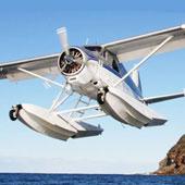 Hydravion pilote d'un jour