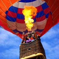 Hot air balloon  - Private Flight - Mtl.
