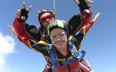 leçon de parachute à Québec