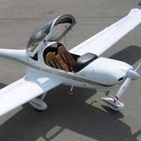 Avion privé. Avion conventionnel trois-axes