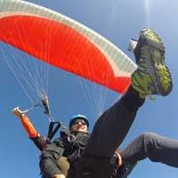 parapente, parachute de pente