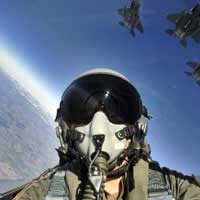 Simulateur de vol d'avion: Chasseur F-16