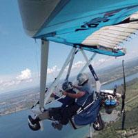 Deltaplane à moteur, ulm pendulaire, ultraléger motorisé